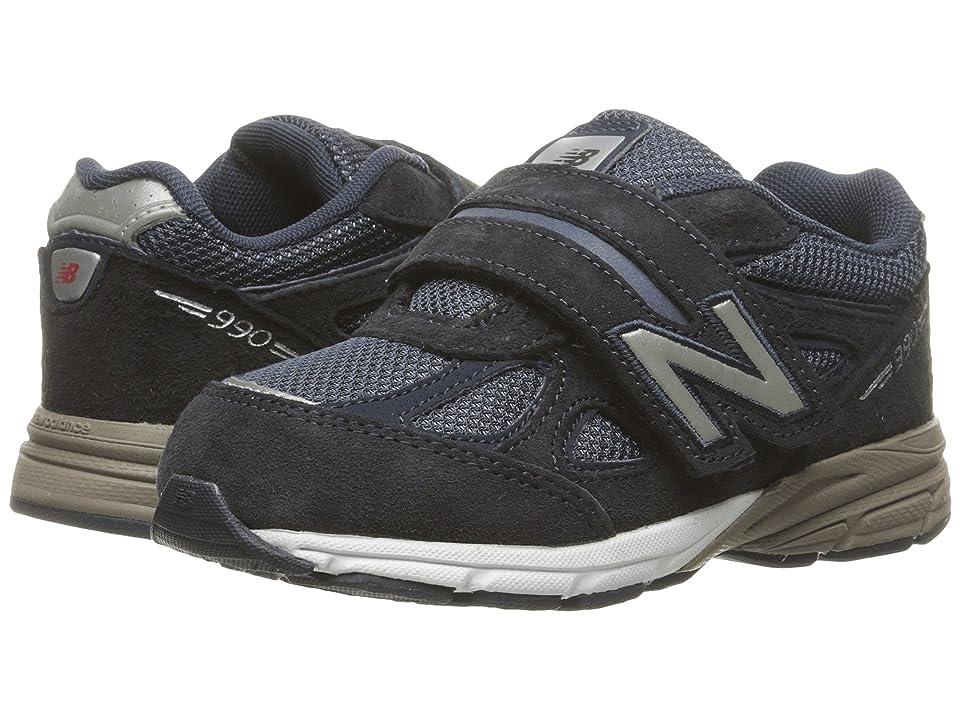 New Balance Kids KV990v4 (Infant/Toddler) (Navy/Navy 2) Boys Shoes