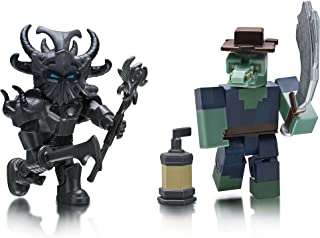 Roblox Figure 2 Pack, Monster Islands: Malgorok'zythand & Fantastic Frontier: Croc