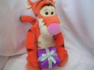 """Tigger with Gift Disney Plush Toy 11"""" Collectible by GUND"""