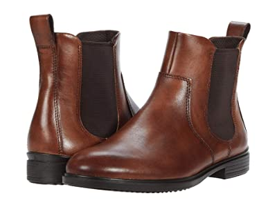 ECCO Touch 15 Chelsea Boot (Cognac) Women