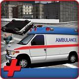 都市救急車の救助運転シミュレータ3D:911救急隊ドライバーの輸送ゲーム