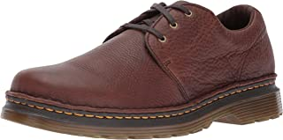 Dr. Martens Men's Hazeldon Dark Brown Loafer