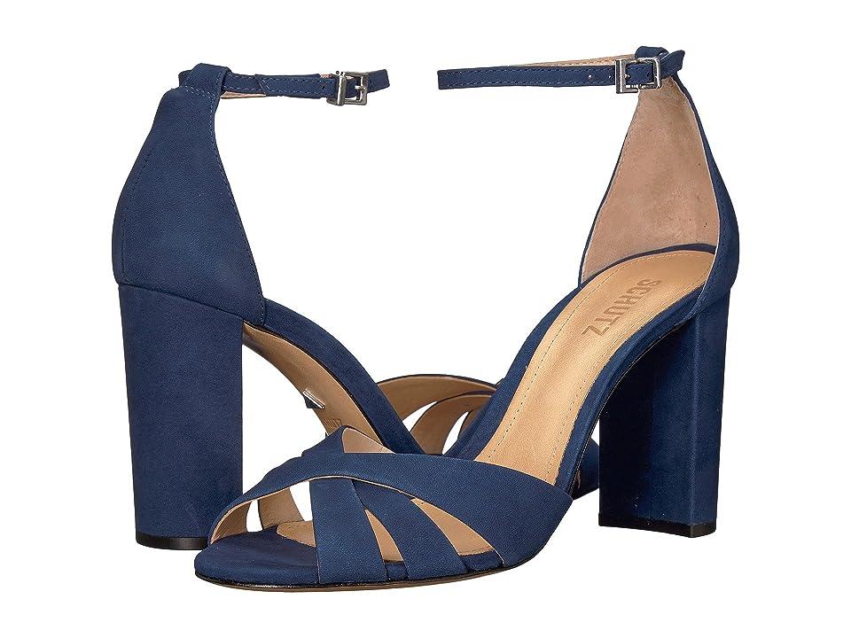 Schutz Alzira (Dress Blue) Women