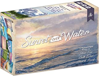 Sunset Over Water Card Game