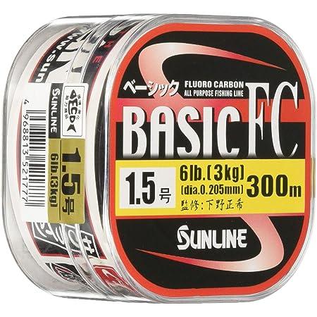 サンライン(SUNLINE) フロロカーボンライン ベーシックFC 300m 1.25号 5lb