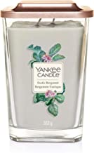 "Yankee Candle Elevation collectie met platformdeksel grote vierkante geurkaars met 2 lonten, ""Sunlight Sands"""