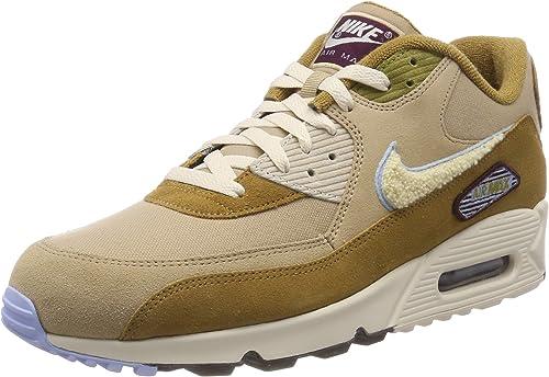 Nike Air MAX 90 Premium Se, Hausschuhe de Gimnasia para Hombre
