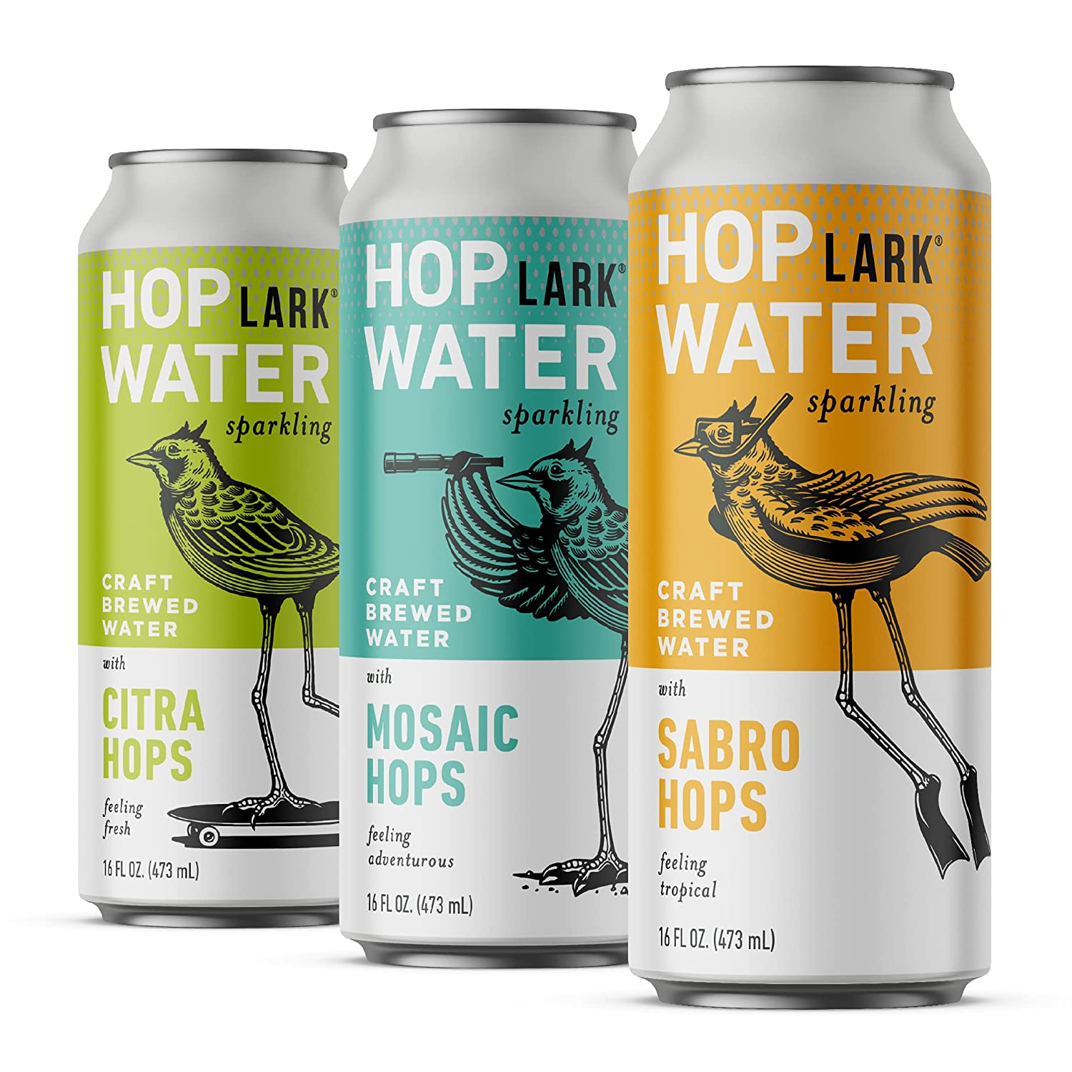 Fashion HOPLARK Water Luxury - Mixed Pack 12 Wate 16oz. Cans Sparkling Hop