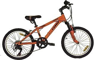 Umit 20 Pulgadas Bicicleta XR-200 Naranja, Partir de 6 años, con Cambio Shimano y Suspension Delantera, Unisex niños
