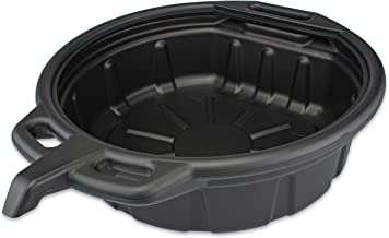 Neiko 20762A Anti Splash Oil Drain Pan, 2 Gallon (8 Liter) Capacity