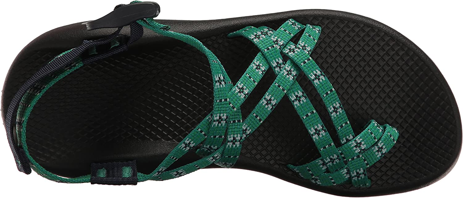 Chaco Mujer Zx2 Classic, diseño Eclipse Verde Eclipse Green