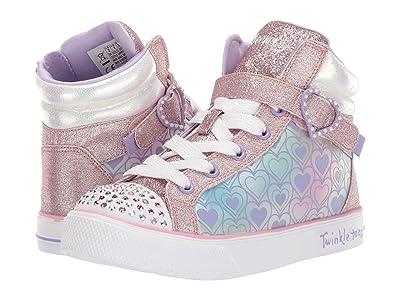 SKECHERS KIDS Twinkle Toes Twinkle Breeze 2.0 20317L (Little Kid) (Rose Gold) Girl