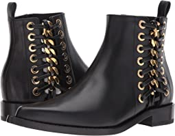 Alexander McQueen - Braided Chain Ankle Boot