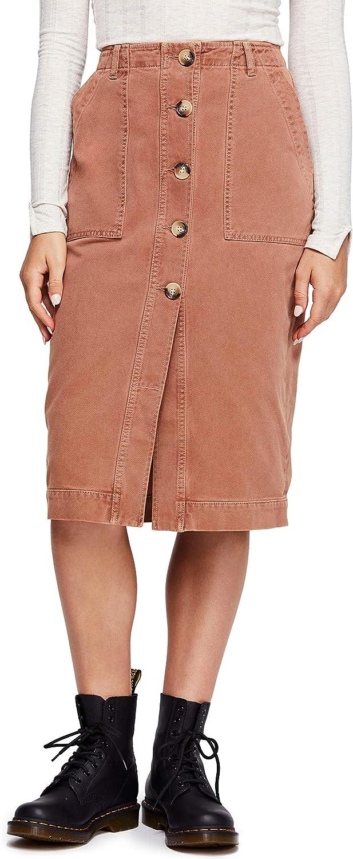 Free People お買い得品 Womens Corduroy Utility Skirt お買い得 Pencil