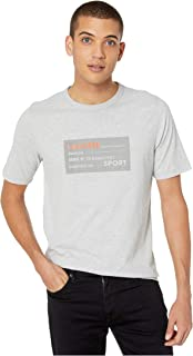 Mens Sport Short Sleeve Rubber Label Life Logo T-Shirt