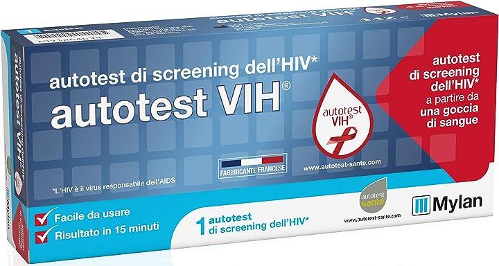 Test hiv autotest vih 400536422