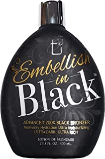 Embellish in Black 200X Bronzer By Tan Incorporated