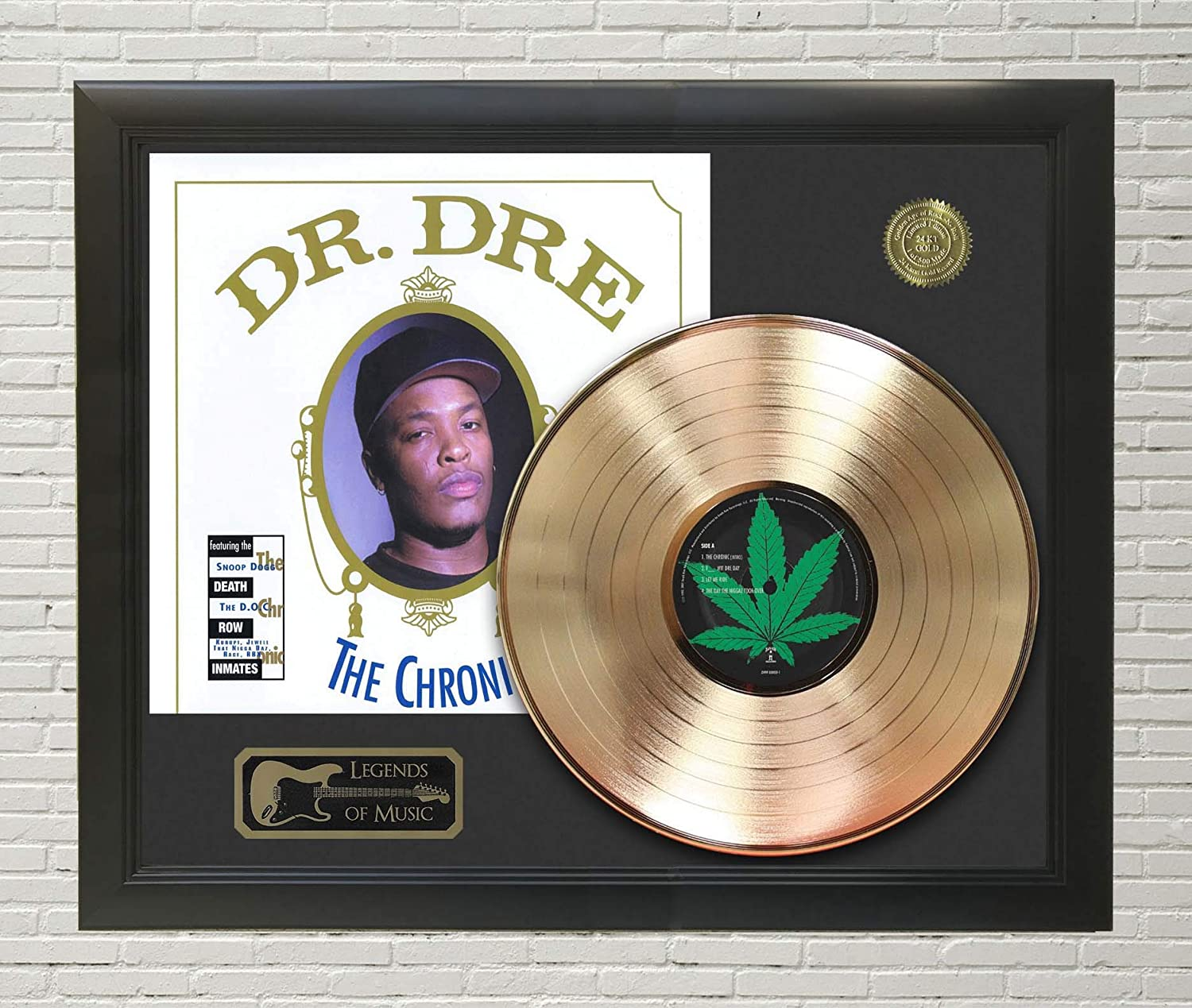 Same day shipping Dr Dre - The C3 Display Framed Chronic Max 90% OFF