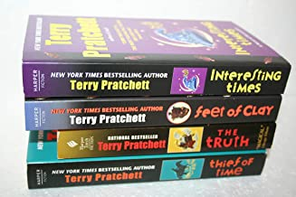 Terry Pratchett's Disc World Series #17, 19, 21 and 26:[[ Interesting Times; Feet of Clay; The Truth and Thief of Time]]