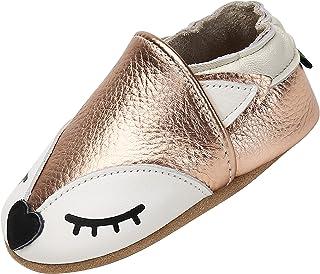 Yavero Chaussures Souple Premiers Légers et Confortables Chaussons Bébé Mixte