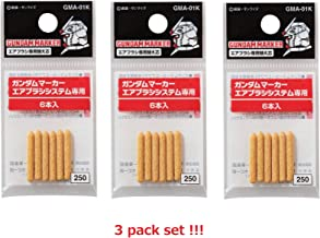 GSI Creos GMA-01K 3 Pack of 6 Replacement Nibs for GMA01 Gundam Marker Airbrush System