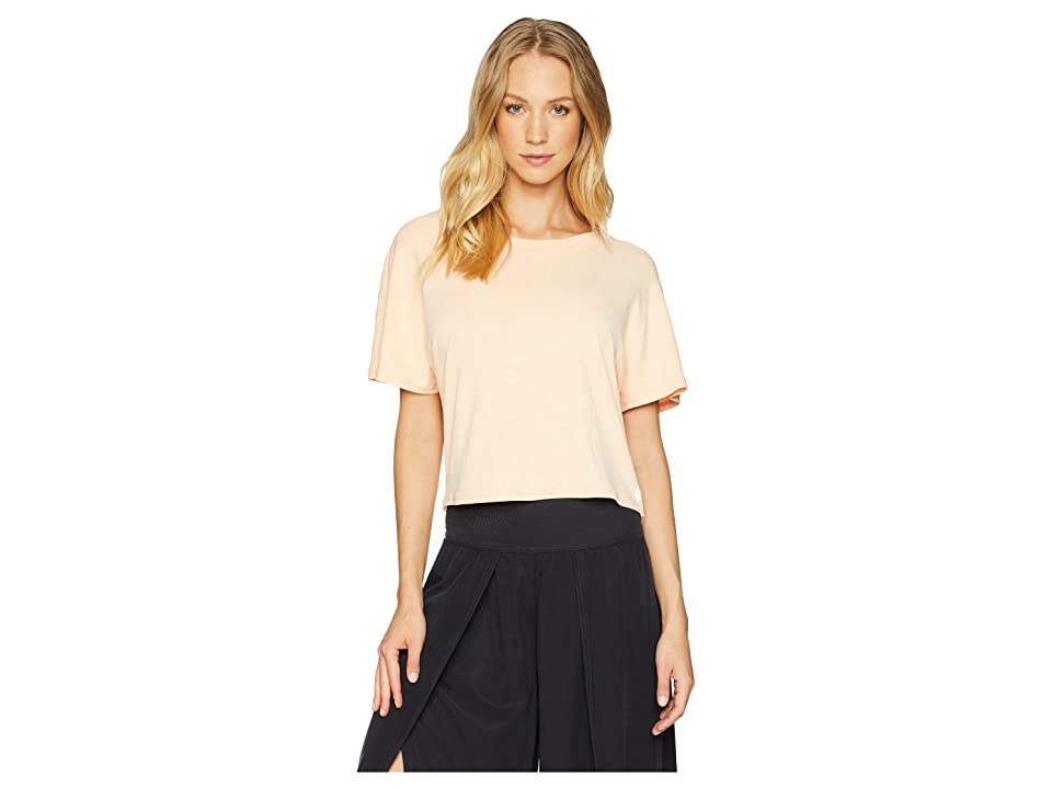 Free People Movement Bambi Tee (Peach) Women