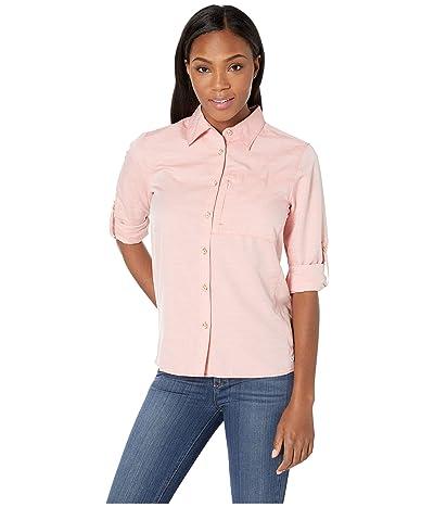 Mountain Hardwear Canyontm Long Sleeve Shirt (Solstice Red) Women