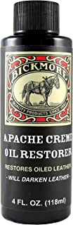 Bickmore Apache Creme Oil Restorer 4 Ounce - Restores Oiled Leather - Great for Apache or Distressed Leather Boots, Shoes,...