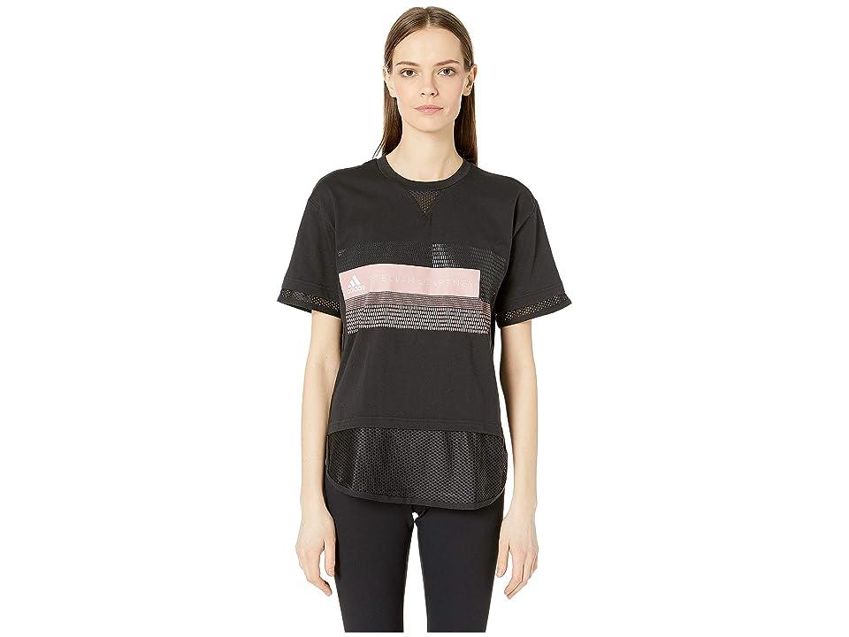 adidas by Stella McCartney Logo Tee DT9226 (Black) Women