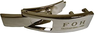 Force of Habit Replacement Lever Buckle High Grade Pewter Buckle with a Polished Chrome Finish Fast Tightening & Quick Release Compatible with 10 MM 13 MM Lever Weightlifting Belts