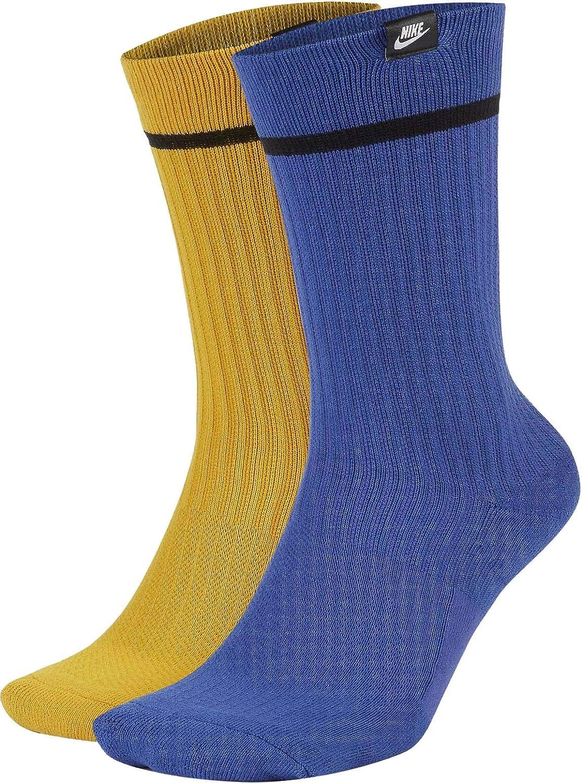 Nike Adult Unisex Sneaker Sox Essential Crew Socks 2 Pack