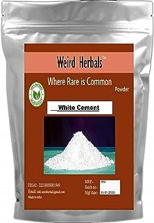 Grade A Premium Quality - White Cement - White Port Land Cement - 400 Grams -
