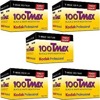 Ritz Camera Kodak Professional 100 Tmax Black and White Negative Film (ISO 100) 35mm 36 Exposures (853 2848) 5 Pack