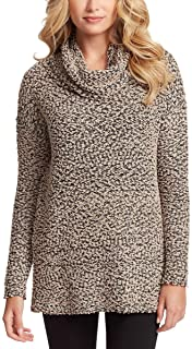 Jessica Simpson Ladies' Cowl Neck Long Sleeves Drop Sweater