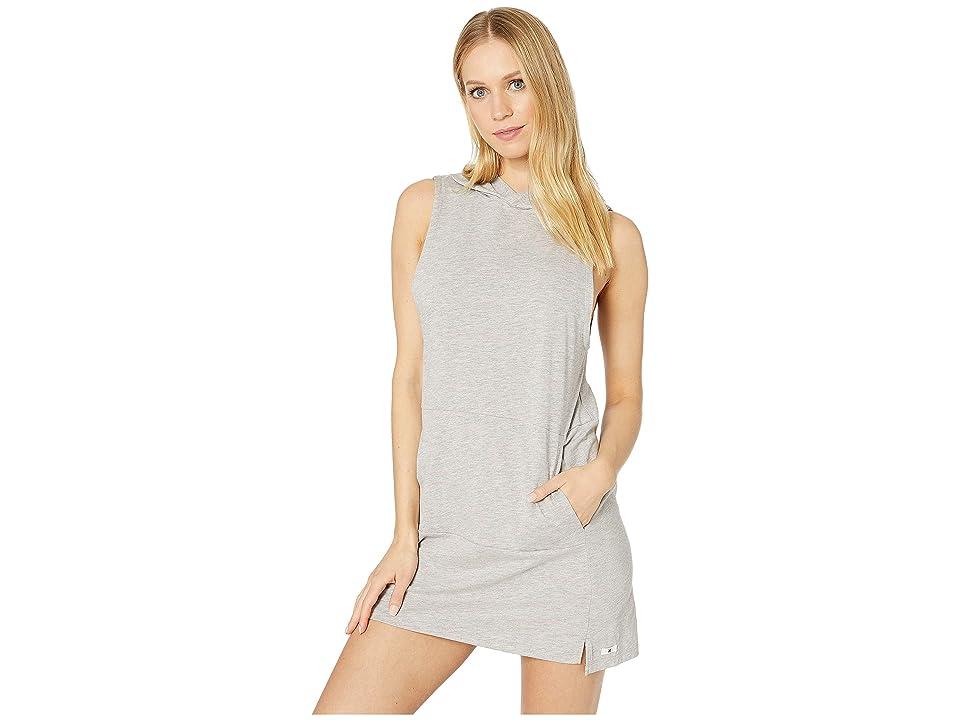 Hurley Hoodie Enjoy Dress (Grey Heather) Women