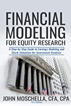 Financial Modeling For Equity Research: A Step-by-Step Guide to Earnings Modeling and Stock Valuation for Investment Analysis