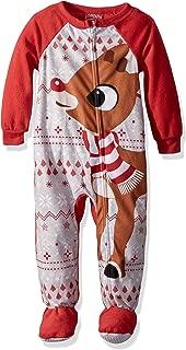 infant rudolph pajamas