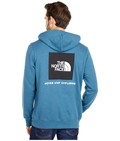 The North Face Box Nse Pullover Hoodie (Mallard Blue) Men