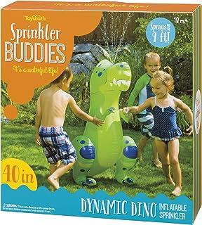 Toysmith Sprinkler Buddies Dynamic Dino Inflatable Outdoor Sprinkler