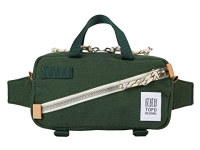 Topo Designs Mini Quick Pack (Forest Canvas) Cross Body Handbags