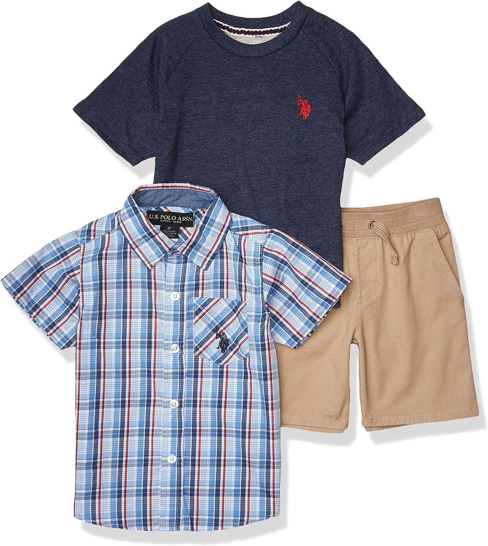 Boys Shorts Set U.S Polo Assn