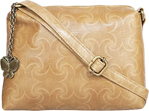 Butterflies Women Sling Bag Light Mustard BNS 0710LMSD