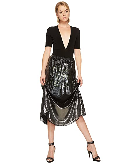 Gather Lurex McQ McQ Lurex Skirt Fluid wp4FF8