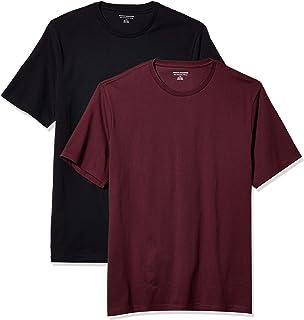 Amazon Essentials 2-Pack Slim-Fit Crewneck T-Shirt Fashion-t-Shirts Uomo (Pacco da 2)