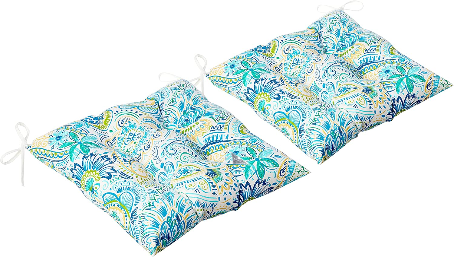 Pillow Perfect Outdoor depot Indoor Gilford Tufted latest Baltic Seat Cushion