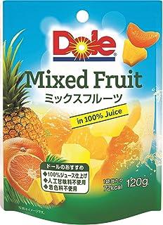 ドール フルーツパウチ ミックスフルーツ 120g×6個