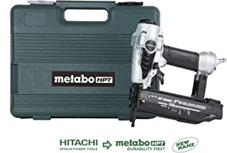 Metabo HPT NT50AE2 Pneumatic Brad Nailer, 5/8-Inch up to 2-Inch Brad Nails, 18 Gauge, Tool-less Depth Adjustment, Selective Actuation Switch, 5-Year Warranty