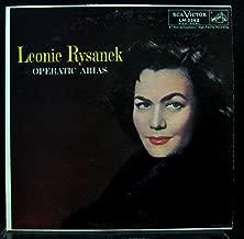 LEONIE RYSANEK OPERATIC ARIAS vinyl record