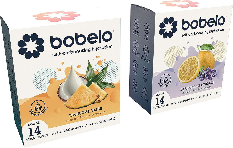 BOBELO shopping CARBONATION Stress Variety Deluxe Pack Stickpacks Single - Serve