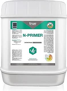 True N-Primer Slow Release Nitrogen Supplement, Promotes Dark Green Leaves 5 Gallon (640 oz)